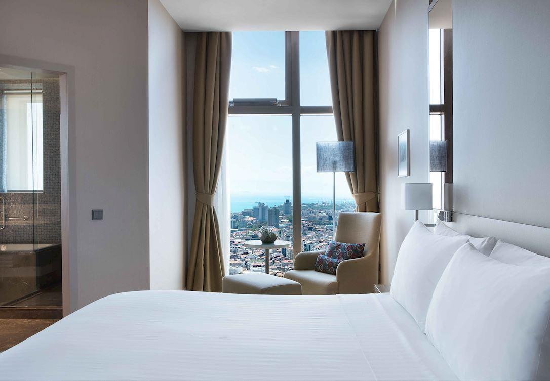 Süitinizden Istanbul manzarasının keyfini çıkarın